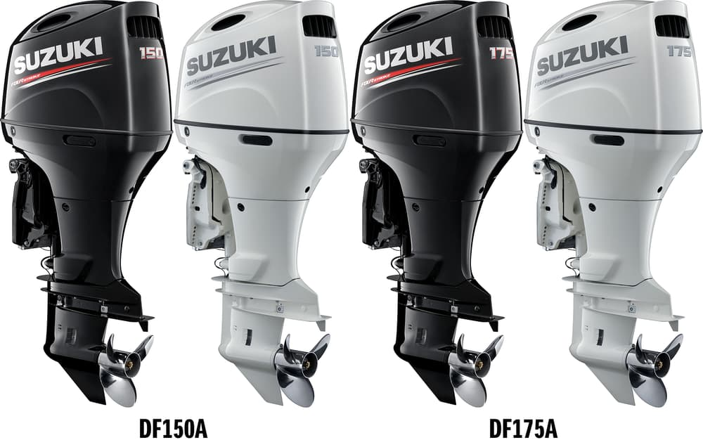 Suzuki Unveils New Outboard Motors